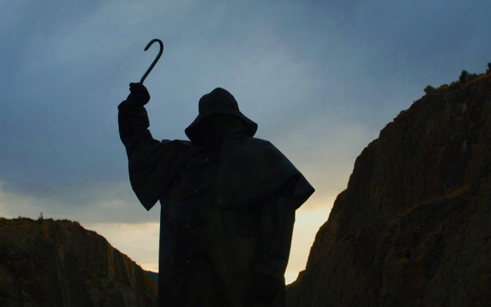 Человек с крюком