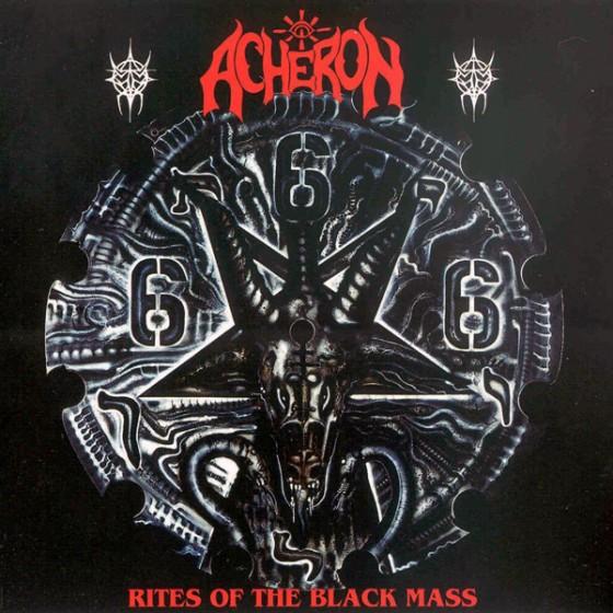 Обложка альбома группы АХЕРОН