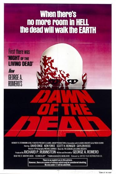 Рассвет мертвецов, постер