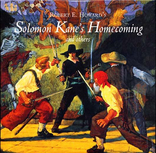Соломон Кейн, обложка