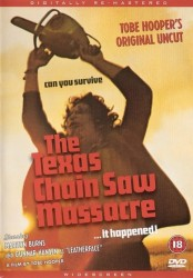 Техасская резня бензопилой, постер
