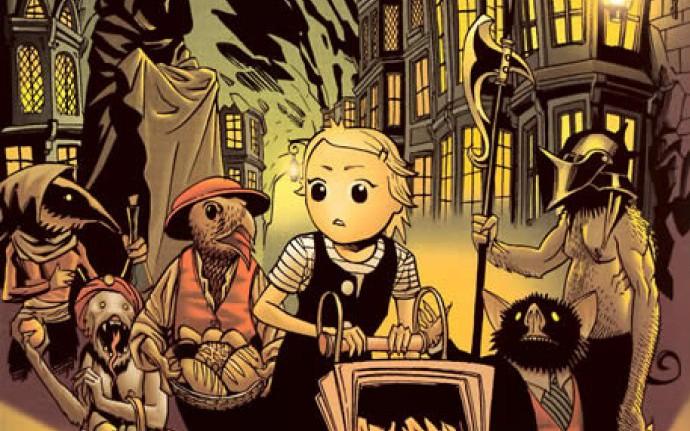 Девочка и мертвецы... гоблины, феи, вампиры и вурдалаки