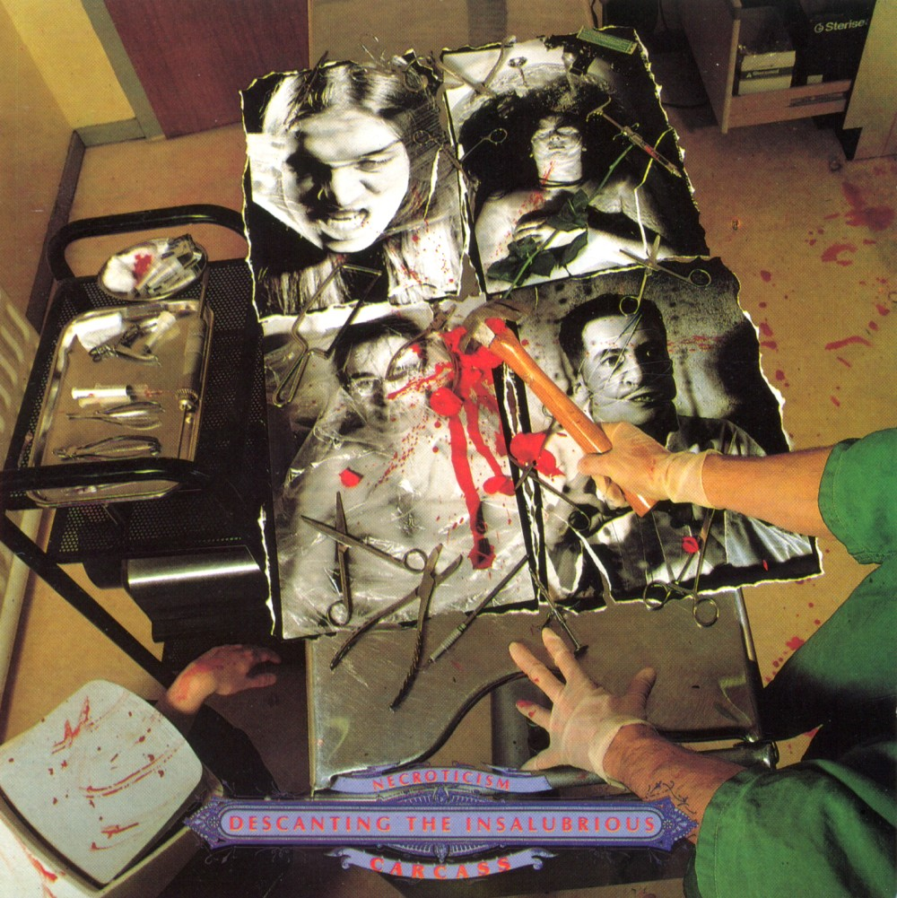 Carcass - Necroticism-Descanting The Insalubrious
