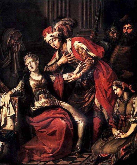 Антон Лосенко. Владимир и Рогнеда (1770)