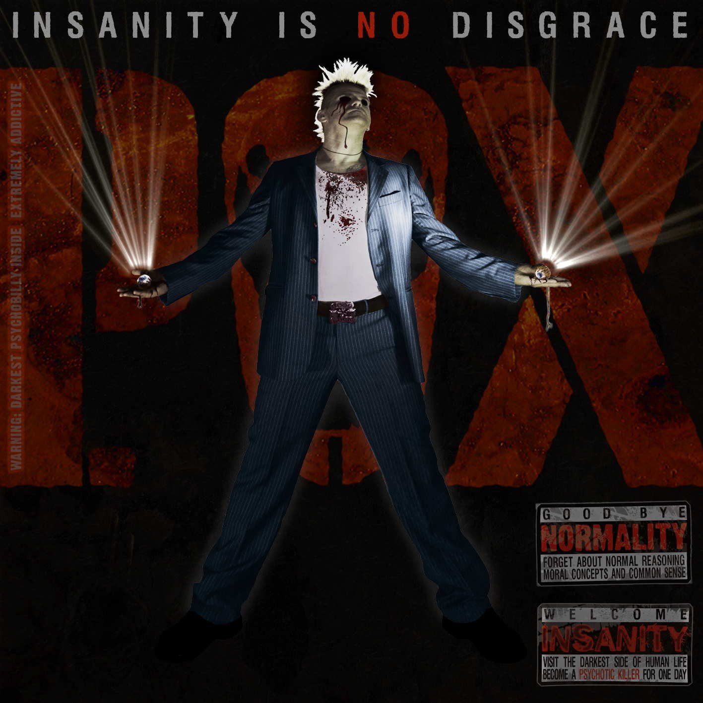 P.O.X. - Insanity is no disgrace