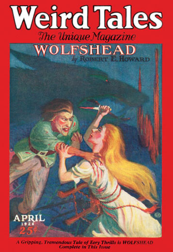 Weird Tales April 1926