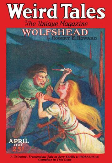 Weird Tales April 1926