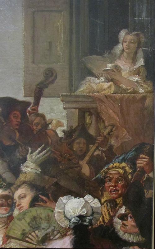 Джованни Доменико Тьеполо. Менуэт (фрагмент)