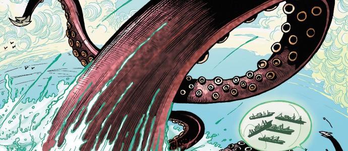 Бэтмен, Человек-паук и гады морские