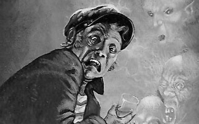 Страшные сказки за бутылочкой виски