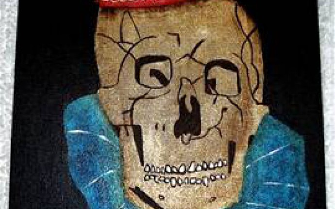 Клоун, рисовавший клоунов