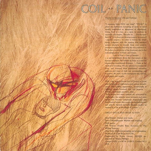 Coil - Panic / Tainted Love