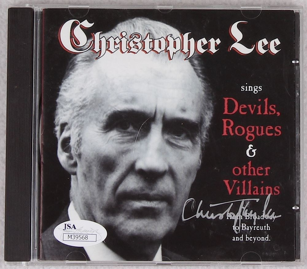 Christopher Lee   Devils, Rogues & Other Villains