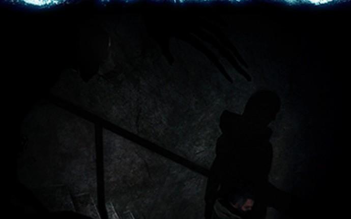 В одной чёрной-чёрной комнате было очень-очень темно