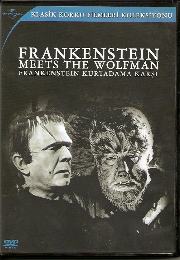 Франкенштейн встречает Человека-волка. Постер