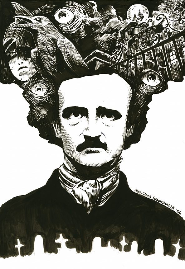 the depiction of the characteristics of romantic writers in edgar allan poes the bells As a writer, poe was part of the american romantic movement of the early nineteenth century, when authors sought to return to nature in order to achieve poe's poetry study guide contains a biography of edgar poe, literature essays, a complete e-text, quiz questions, major themes, characters, and a.
