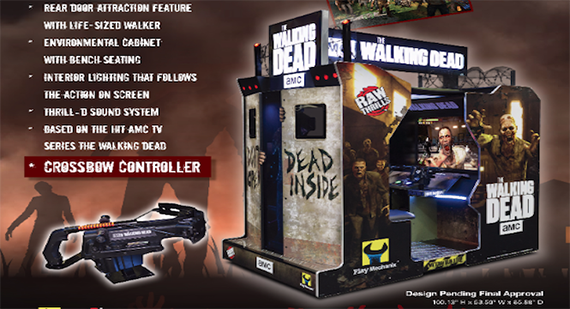 The Walking Dead Video Arcade Game