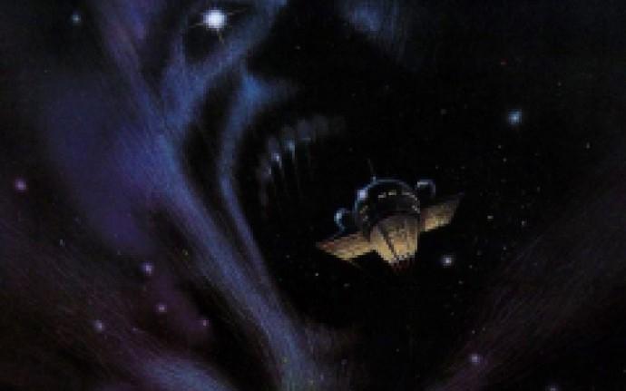 В темном-темном космосе на темном-темном корабле